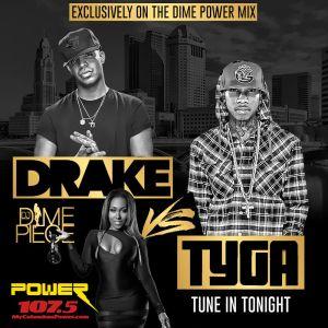 Drake vs Tyga