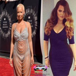amber rose khloe k featured