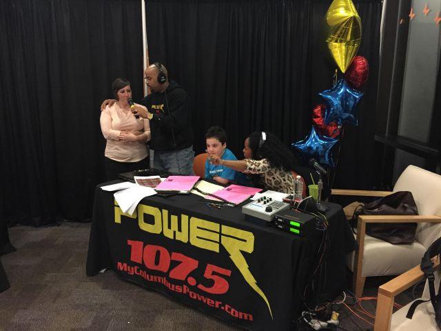 Magic 106.3 and Power 107.5 Radiothon 2015