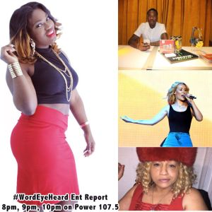 lilD's Word Eye Heard Ent Report 8-5