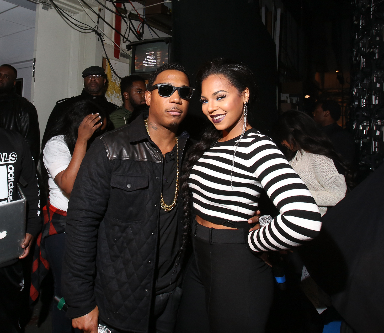 Ja Rule and Ashanti at 106 & Park