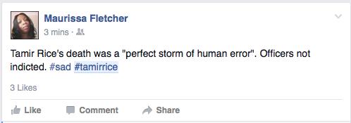 Tamir Rice Reactions