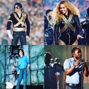 Kendrick Lamar Beyonce Michael Jackson