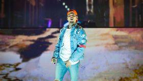 Chris Brown Performs At AccorHotels Arena In Paris