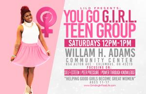 lilD's You Go GIRL Teen Group