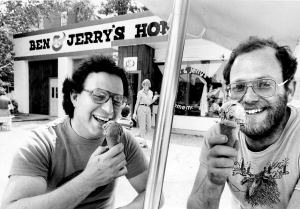 Jerry Greenfield And Ben Cohen