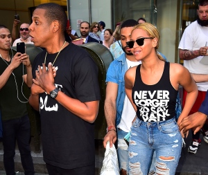 Celebrity Sightings In New York City - May 11, 2015