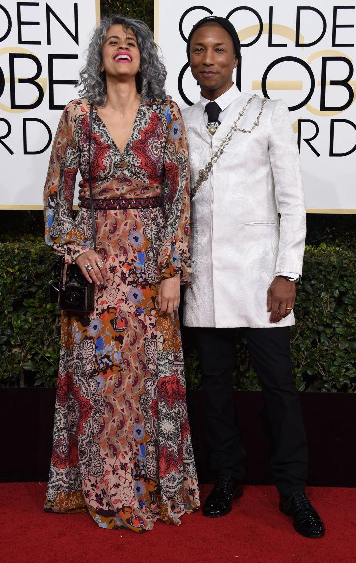 Pharrelle Williams and wife