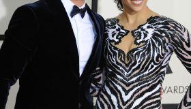 USA - 56th Grammy Awards- Arrivals