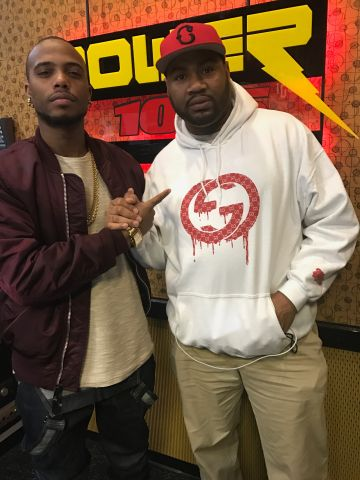 B.O.B. Visits Power 107.5
