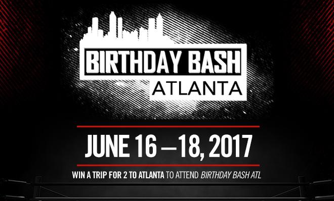 """The """"Birthday Bash Atlanta Flyaway"""" sweepstakes"""