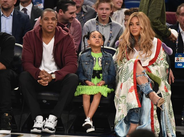 Celebrities Attend The 66th NBA All-Star Game