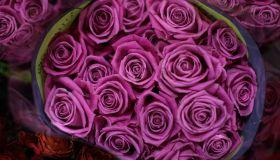 Valentine's Flowers At New Covent Garden Market