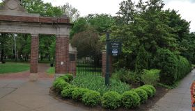 Alumni Gateway Park, Ohio University, Athens, Ohio, USA