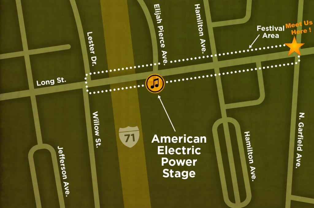 Wear Orange Rally Map