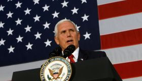 VP Pence Joins Alabama Senate Candidate Luther Strange At Campaign Rally