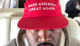Kanye West MAGA hat