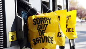 Gas pumps out of service