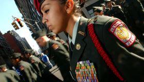 USA - New York City - Veterans Day Parade