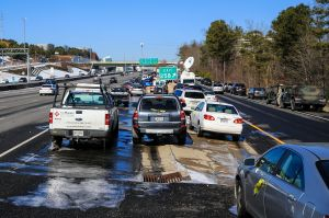 Atlanta Area Residents Continue To Deal With After Effects Of Winter Storm