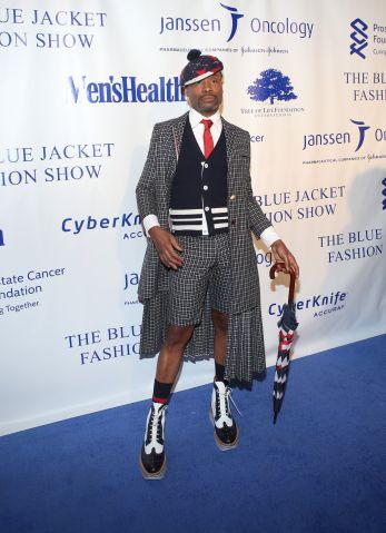 Blue Jacket Fashion Show - Arrivals