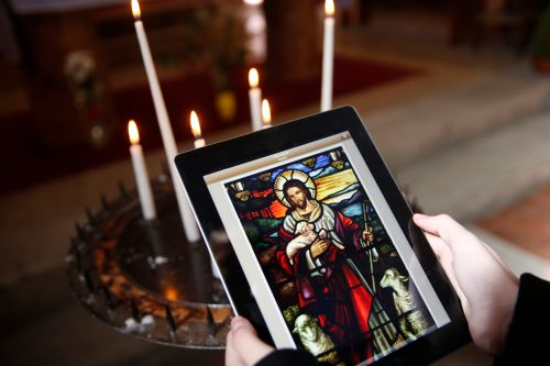 Religion on a tablet