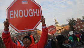 Public Sector Unions Rally Against Proposed Pension Changes In Maryland