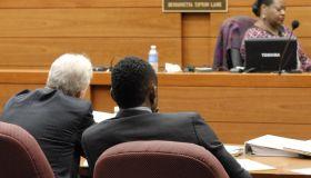 Usher Raymond & Tameka Foster Custody Hearing