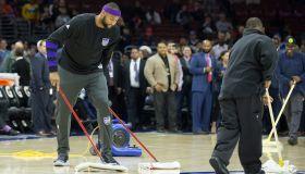 Sacramento Kings v Philadelphia 76ers