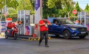 Gas Stations Limit Dispensing of Fuel As Truckers Strike
