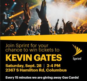 Sprint/Kevin Gates Ticket Drop
