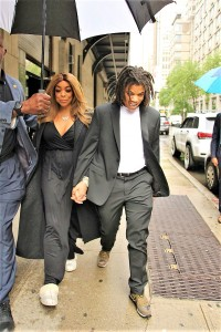 Wendy Williams & Son Kevin Hunter Jr All Smiles After Altercation With Kevin Sr. Last Night