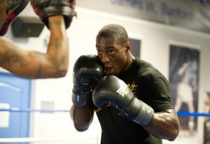 UFC Fighter Phil Davis Holds Open Workout