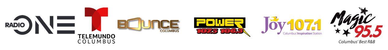 Urban One Radio One Columbus Cluster Logos