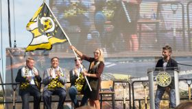 SOCCER: OCT 10 MLS - Columbus Crew SC New Downtown Stadium Groundbreaking Ceremony