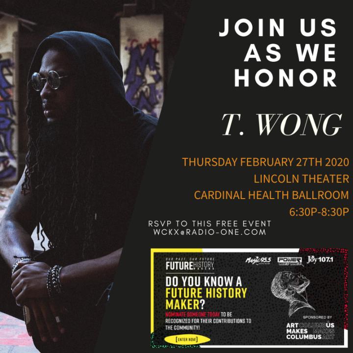 Future History Makers 2020: T. Wong