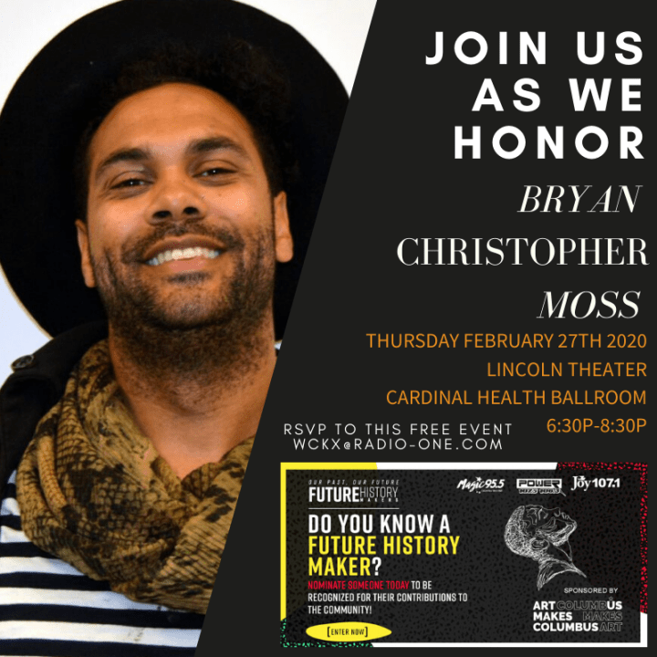 Future History Makers 2020: Bryan Christopher Moss
