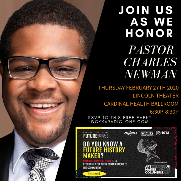 Future History Makers 2020: Pastor Charles Newman