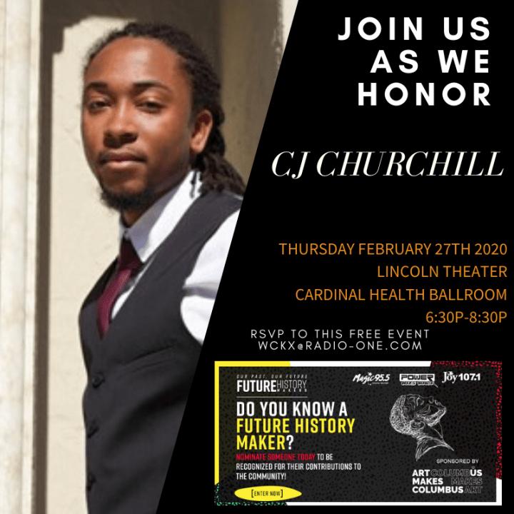 "Future History Makers 2020: Carlton ""CJ"" Churchill"