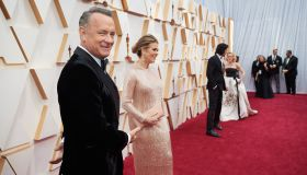Oscar® nominee, Tom Hanks and Rita Wilson arrive on the red carpet of The 92nd Oscars® at the...