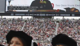 President Obama Gives Commencement Address At Ohio State University
