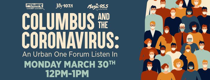 Columbus COVID-19 Community Forum 3/30