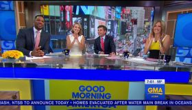 Michael Strahan during an appearance on ABC's 'Good Morning America.'