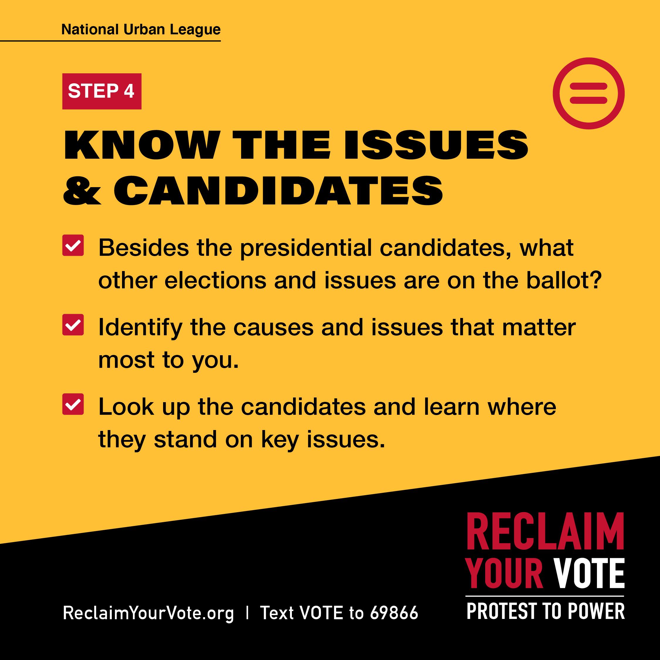 Columbus Urban League Voter Resources