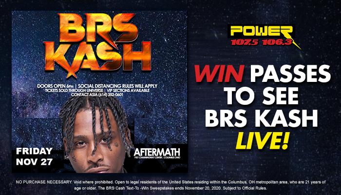 BRS Kash Contest WCKX