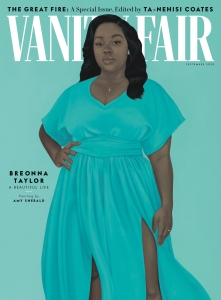 Breonna Taylor cover for Vanity Fair September Issue