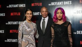 Dr. Dre attends the European premiere of The Defiant Ones