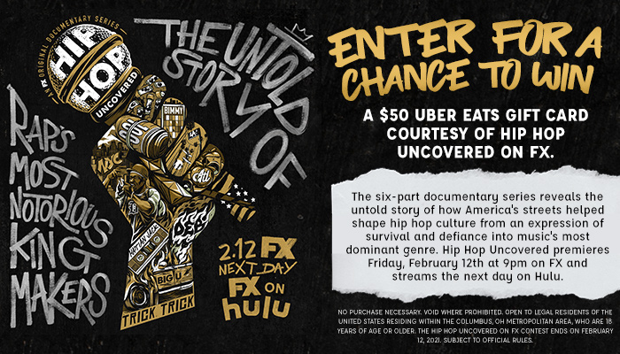 Hip Hop Uncovered on FX contest