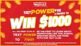 WCKX SMS Cash Contest