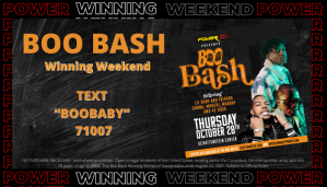 Boo Bash Winning Weekend on WCKX MyColumbuspower.com
